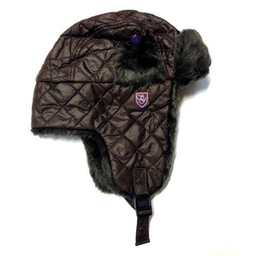 Chapeau de trappeur Sherwood Forest kalburn Matelassé /& fourrure synthétique taille Bleu Violet Marron