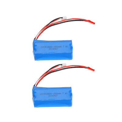 GoolRC 2*7.4V 1500mAh Rechargeable Li Battery for MJX T23//F45 RC Helicopter S0K4