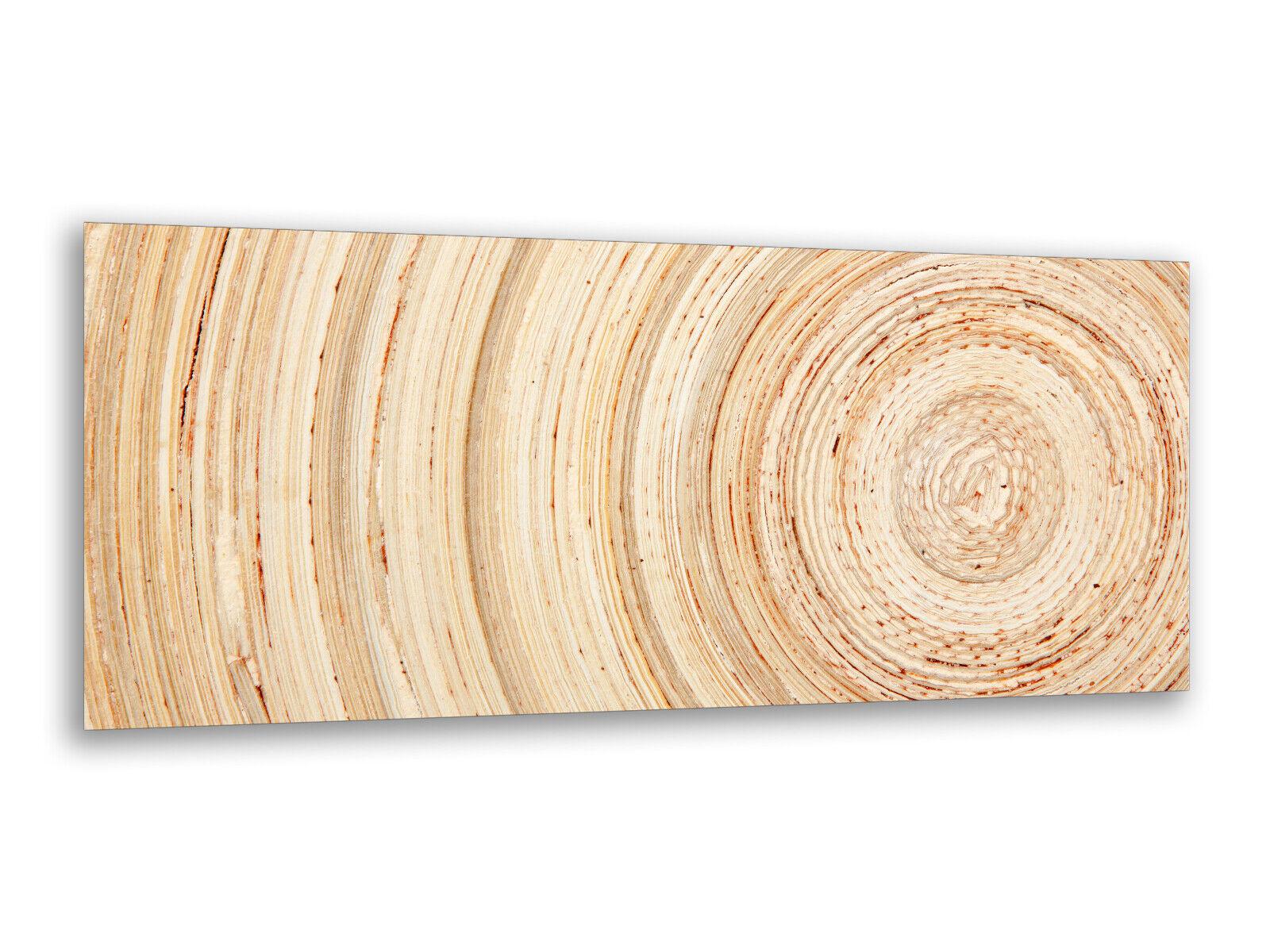 Photos de peintures murales 125 x 50 cm ans anneaux bois ag312502725