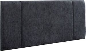 """Headboard 20"""" Linen Fabric Panel Upholstered Bed - All Sizes & Colours"""