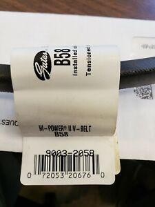 Gates B58 V Belt