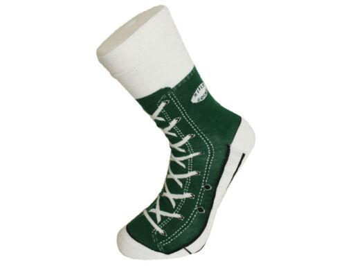 Gruen Chaussettes sneaker en aspect Chuck-unisexe