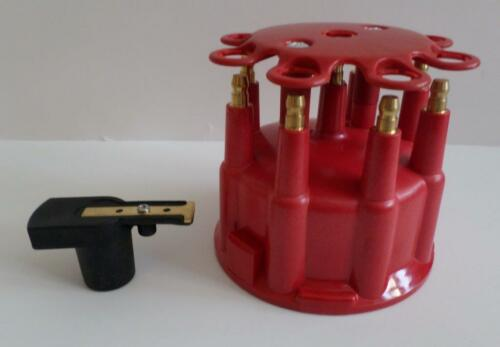 RED Ready-To-Run//Pro Billet Replacement Distributor Cap /& Rotor Top Street Perf.