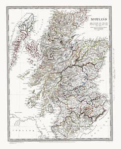 Scotland-map-of-1841