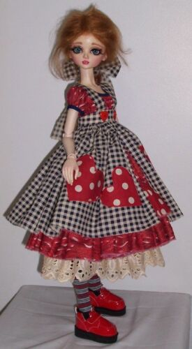 Nelly /& Laycee BJD dress pattern 4 53cm Dollstown Elf adjust for Cissy