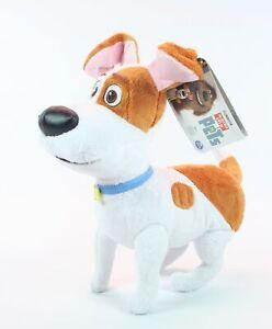 "THE SECRET LIFE OF PETS large plush MAX 12"" soft toy dog - NEW!"