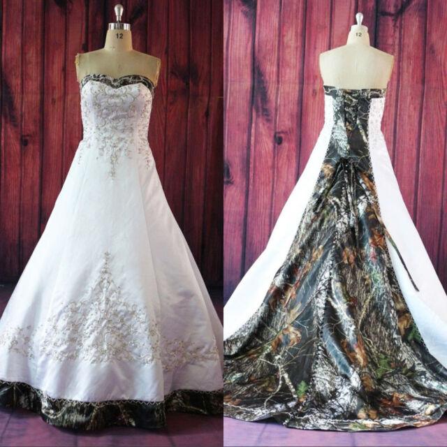 2018 Plus Size Strapless Satin Wedding Dresses Lace Up Bridal Gowns