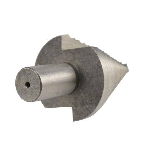 5-35mm Titanium 13 Step Spiral Groove Conical Cone Drill HSS Bit Set Hole Cutter