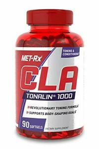 MET-Rx CLA Tonalin 1000 Supplement Supports Weight Loss and Toning 90 Softg...