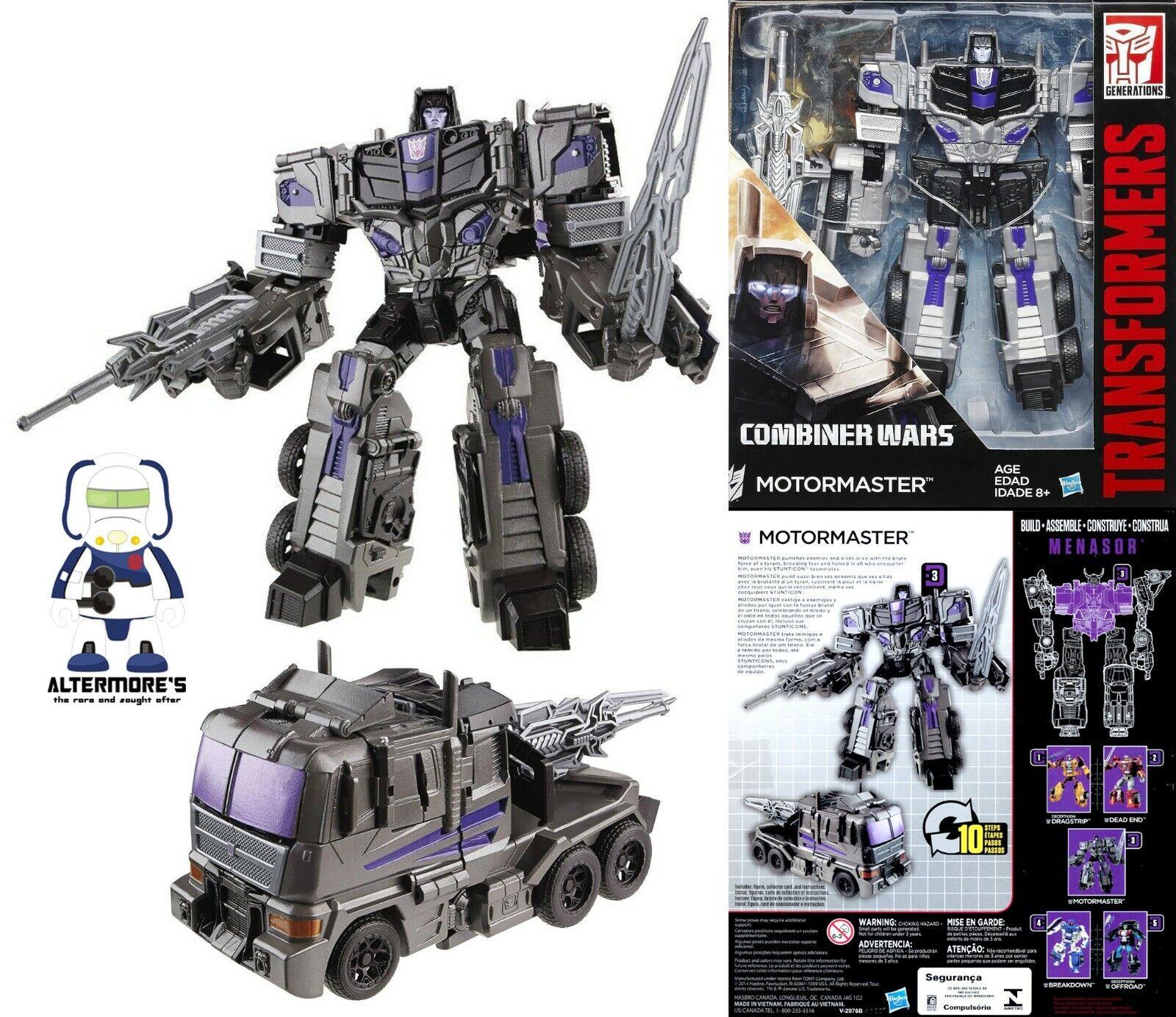 Transformers Hasbro Combinador guerras Voyager Motormaster sin usar y en caja sellada