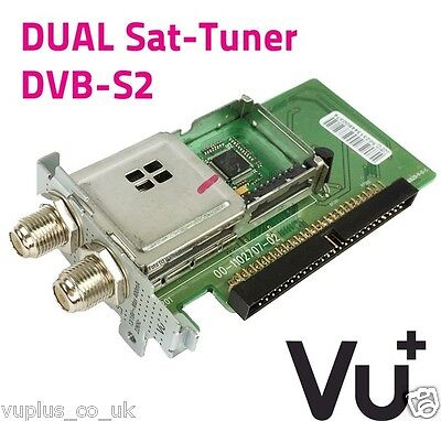Vu + Plug And Play Dvb-s/s2 Dual Tuner-