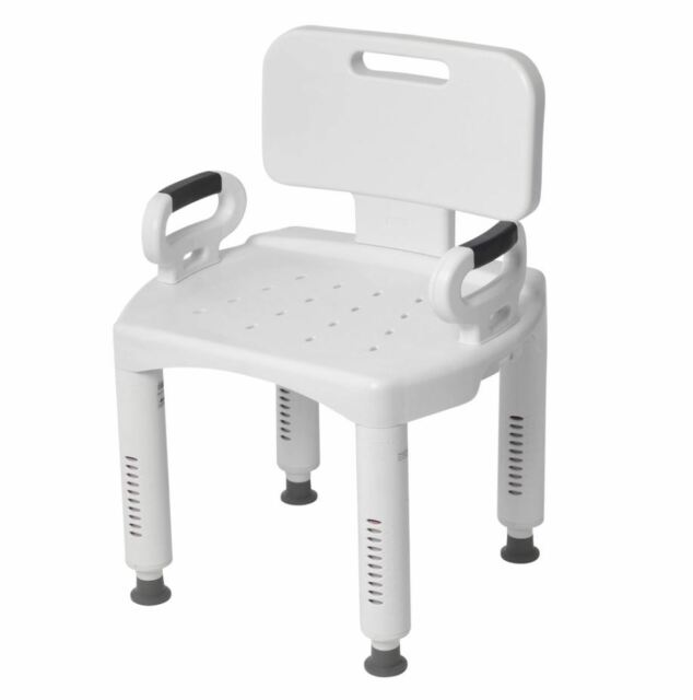 Astonishing Shower Chair With Arms Portable Small In Bath Seat Back Medical Tub Bench Stool Theyellowbook Wood Chair Design Ideas Theyellowbookinfo