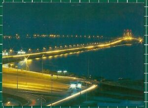CWC-Malaysia-1980s-034-Penang-Bridge-by-Night-034-Postcard-photo-by-C-T-Fong-16813