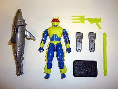 G.I. JOE COBRA EEL Vintage Action Figure Battle Corps 99% COMPLETE C9+ v2 1992