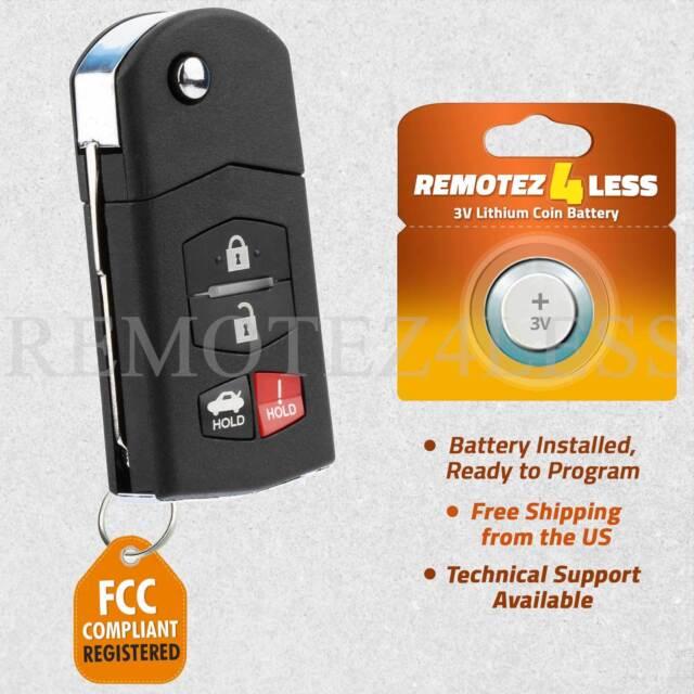 mazda 3 2012 key battery