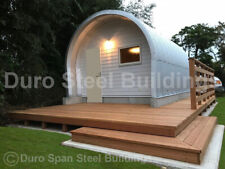 Durospan Steel 25x20x14 Metal Building Shop Home Kits Open Ends Factory Direct
