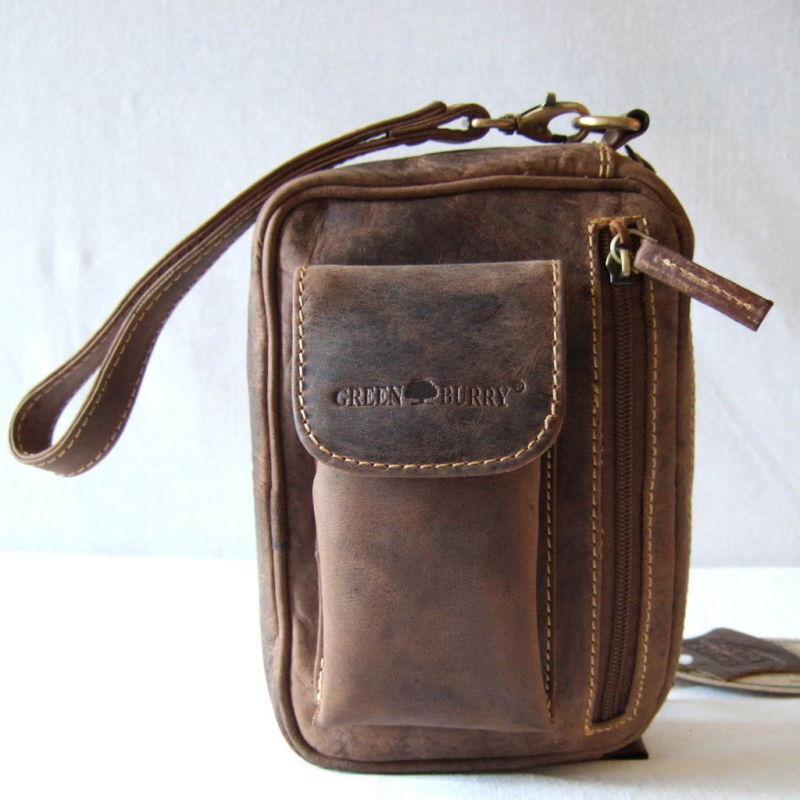Greenburry Greenburry Greenburry poignet sac 20*15*9 cm BOVINS-Cuir Homme-sac a main 1732 045bd3