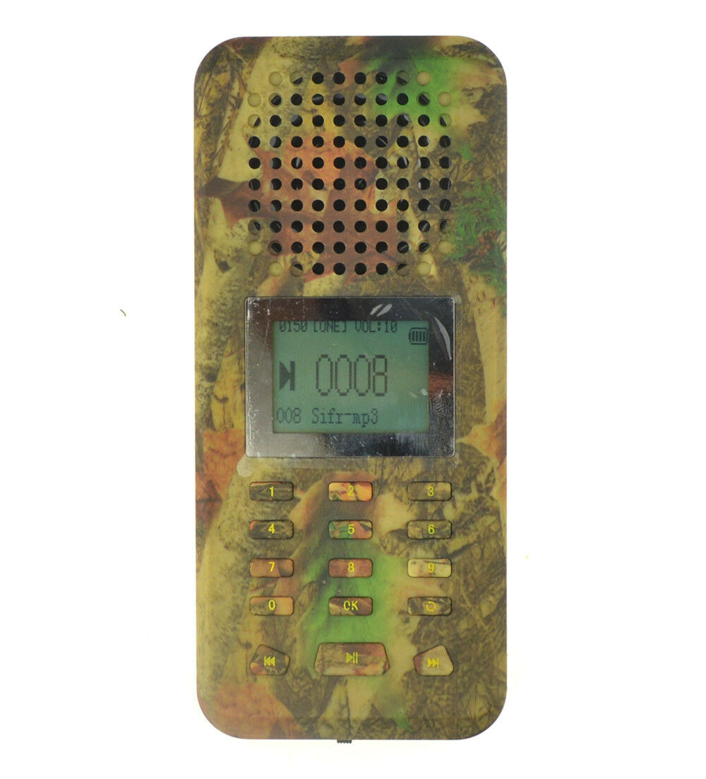 Ourdoor Hunting Bird Caller MP3 Player 20W Högt högtalare 150 Voice Camouflage