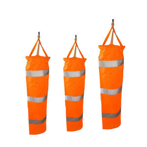3PCS-60-100cm-Airport-Windsock-Aviation-Outdoor-Wind-SOCK-Bag-Camping-Flag