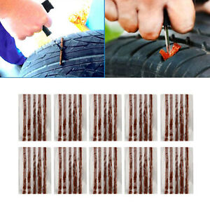 10X-Car-Auto-SUV-Tyre-Tubeless-Seal-Strip-Plug-Tire-Puncture-Repair-Recovery