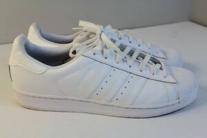 6c2458f0065 Adidas Superstar La Marque Aux 3 Bandes Sneakers Shoes Men Size 11 ...