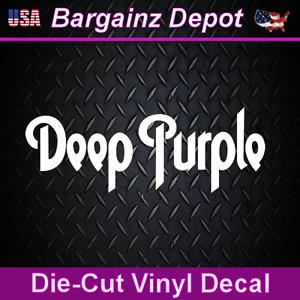 FREE SHIPPING Deep Purple Music Band Vinyl Die Cut Car Decal Sticker