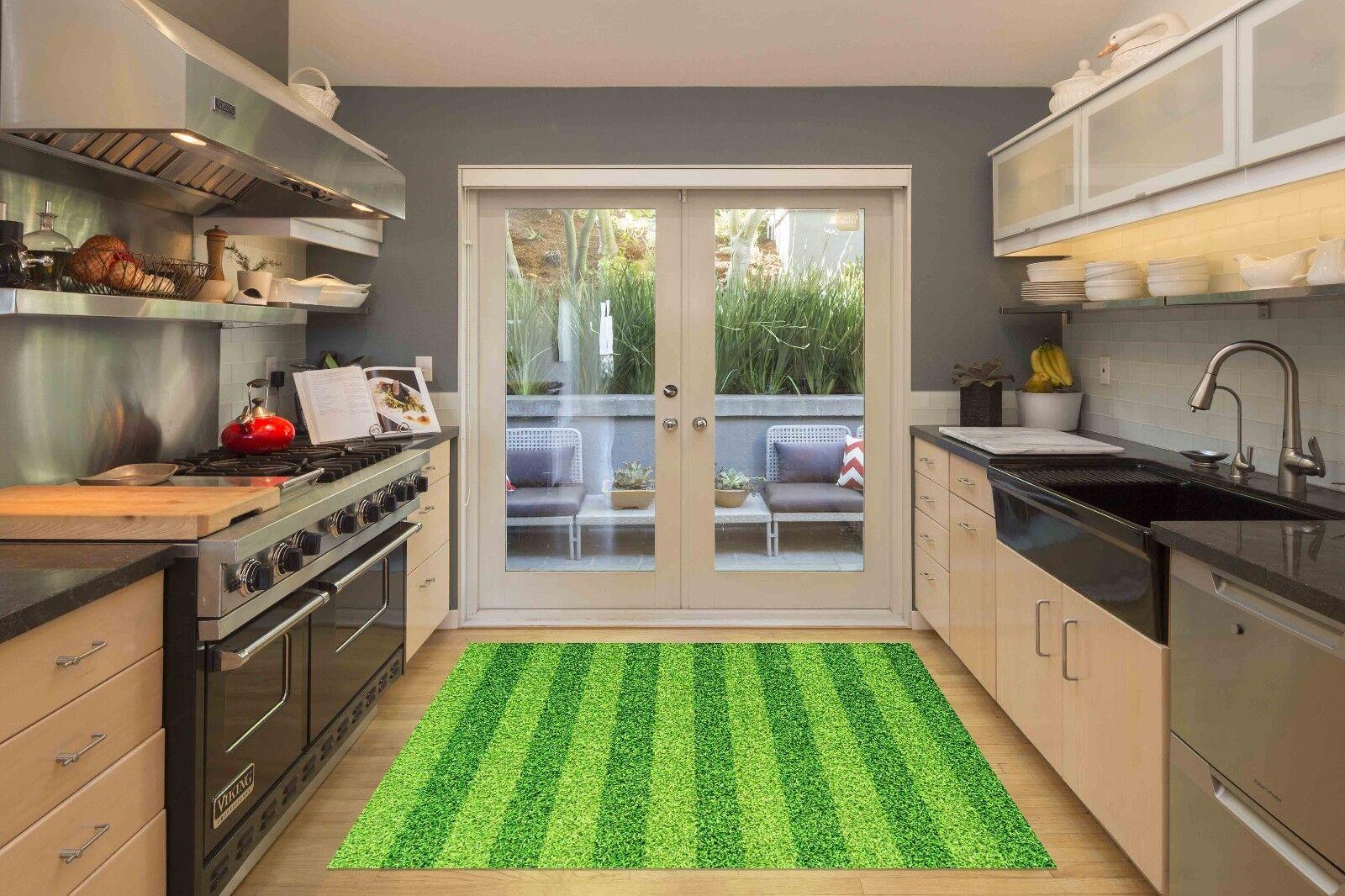 3D Lawn Grün 211 Kitchen Mat Floor Murals Wall Print Wall Deco AJ WALLPAPER UK