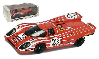 Die cast 1//43 Modellino Auto Porsche 917 24H Le Mans 1970 H.Herrmann