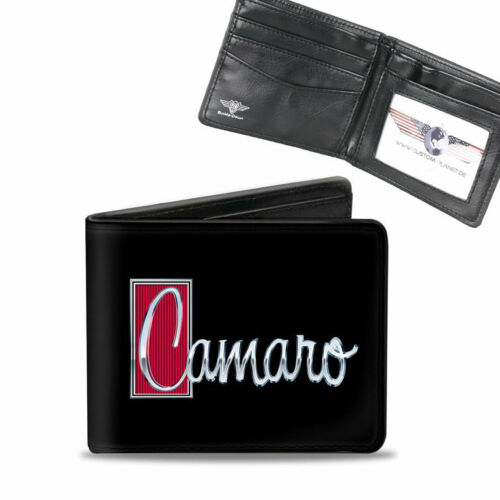 Gm Chevy Chevrolet CAMARO 1972 Logo Bourse Wallet Chaîne Porte-monnaie Portefeuille