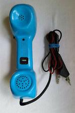 Harris Dracon Ts21 Butt Set Telephone Test Linemans Headset Phone Blue Untested