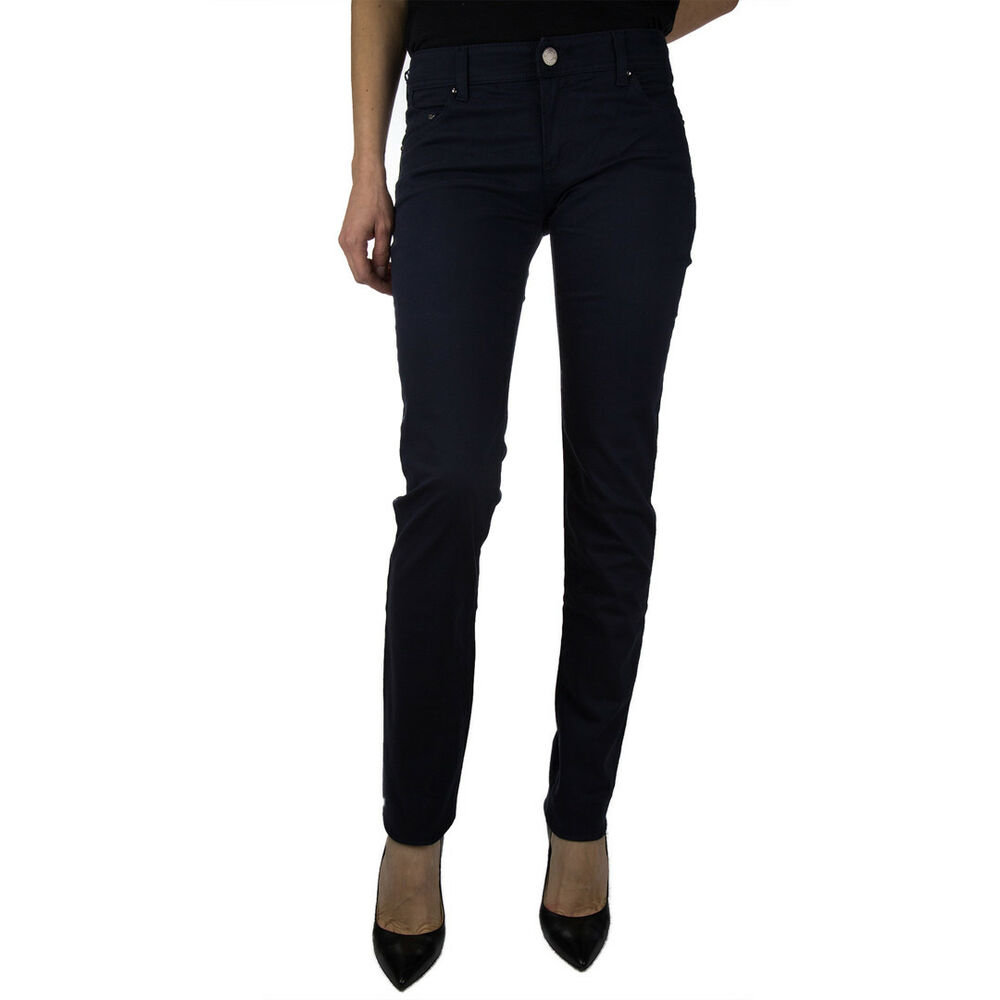 Armani Jeans Pantalone Tg.26 Donna Col. Blu |occasione -45% |