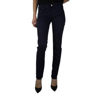 Armani-Jeans-Pantalone-tg-26-Donna-Col-Blu-Occasione-45
