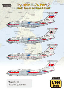 Wolfpack-1-144-decal-Ilyushin-Il-76-Pt-2-Air-Koryo-Il-76MD-for-Zvezda-WD14403