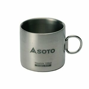 Titanium Water Mug Cup Outdoor Camping Cooking Pot Cup with Lid Folding Handle