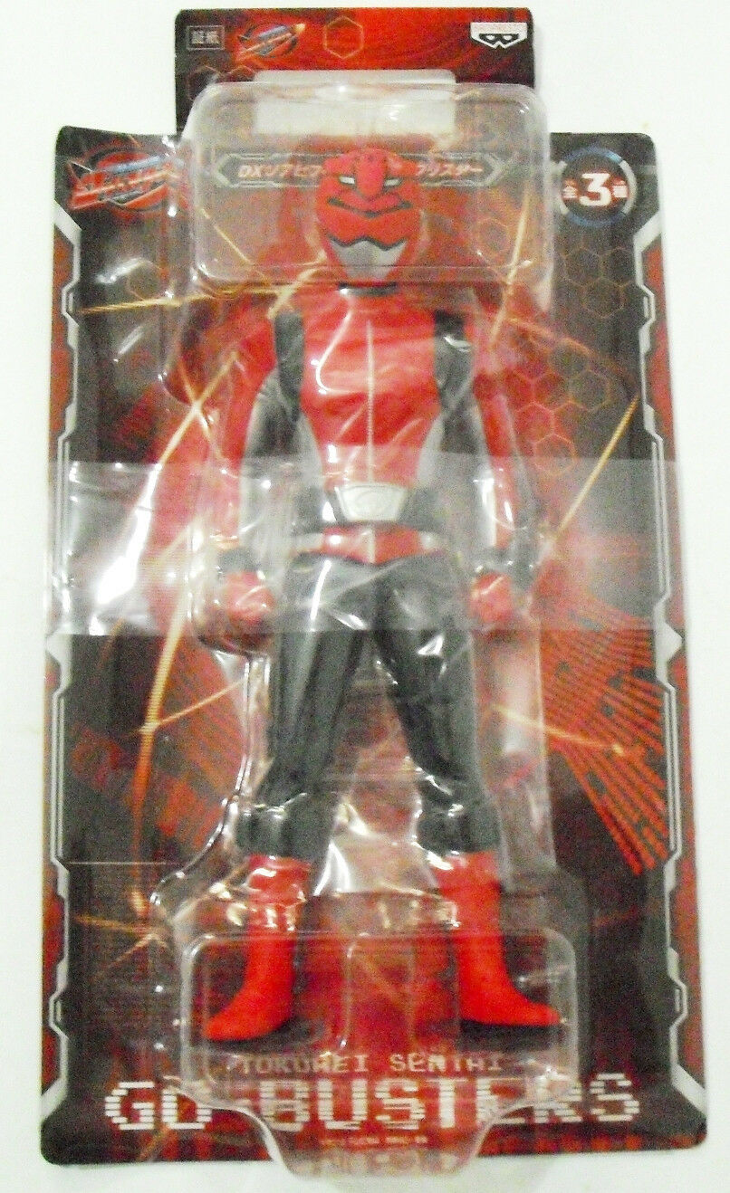Banpresto Tokumei Tokumei Tokumei Sentai Go-Buster - RED BUSTER   Action Figure 5b66c8