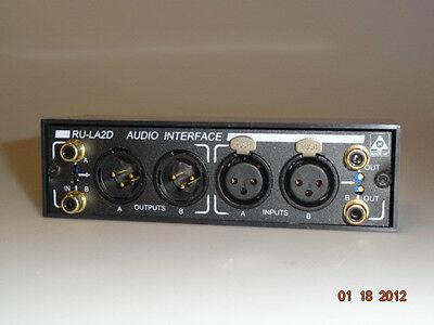 RDL RU-LA2D  3 balanced//unbalanced in-out