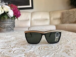 aab086416f Authentic Vintage B L Ray Ban Olympian III Black Gold W0741 G15 ...