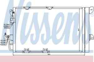 Nissens-Condenser-94650-Fit-with-Opel-Astra