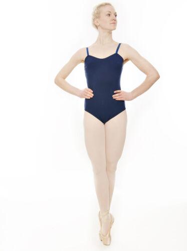 Girls /& Ladies Black Ballet Dance Cotton Camisole Leotard KDC020 By Katz