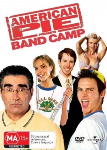 1 of 1 - American Pie - Band Camp - DVD VERY GOOD CONDITION REGION 4 FREE POST *RARE*