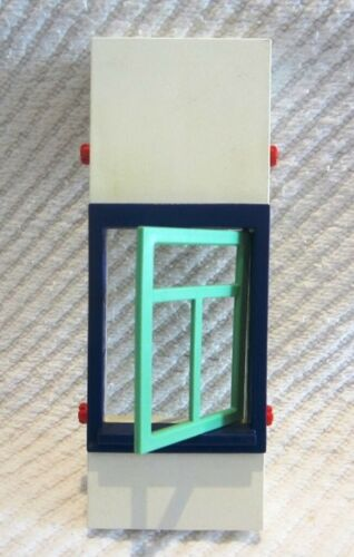 Wahl Wand mit Fenster 16 x 6 aus Set 3988 * II * Playmobil