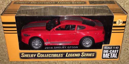 Carroll Shelby Collectibles Legend Series 1:43 2016 Shelby GT350 Die-Cast Cobra