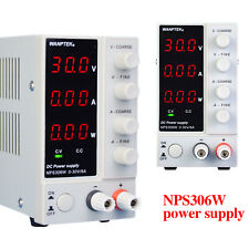 Power Supply Precision Variable Dual 3 Digital Lab Test Adjustable Nps306w3010w