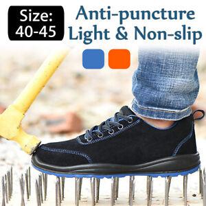 Leger-Securite-Chaussures-de-Travail-Embout-Coque-Acier-Baskets-Hommes-Femmes