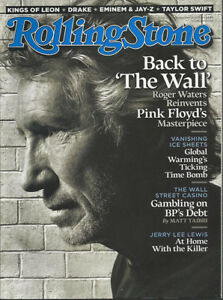 ROGER WATERS Pink Floyd DRAKE Jerry Lee Lewis 2010 Rolling Stone magazine