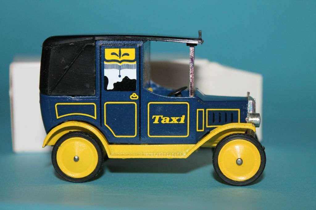 DINKY TOYS  TAXI  UNITED BISCUITS  PROMO  RARITÄT  1979