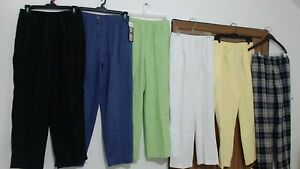 NWT SIZE 14P LOT OF 12 COMFORT STRETCH WAIST PANTS BY BLAIR JEANOLOGY COLLECTION