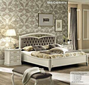 Das Bild Wird Geladen Neues Luxus Schlafzimmer  Nostalgia Farbe Weiss Antik Aus