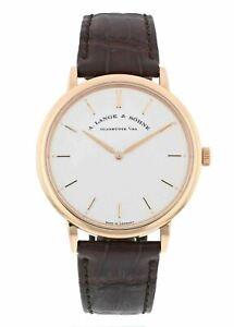 A. Lange & Sohne Saxonia Thin 18k Rose Gold Manual-Wind 40mm Men's Watch 211.032
