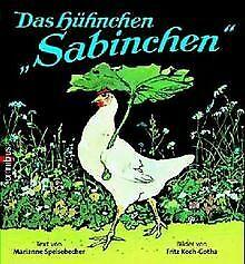 Das Hühnchen Sabinchen von Speisebecher, Marianne, Koch-... | Buch | Zustand gut